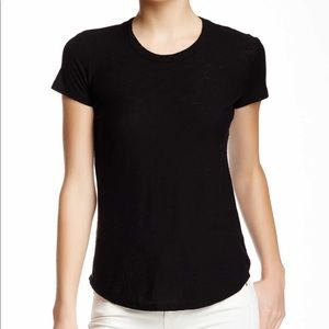 James Perse black short sleeve crew neck t-shirt